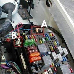 2006 Chevy Silverado Fuse Box Locations Image Details