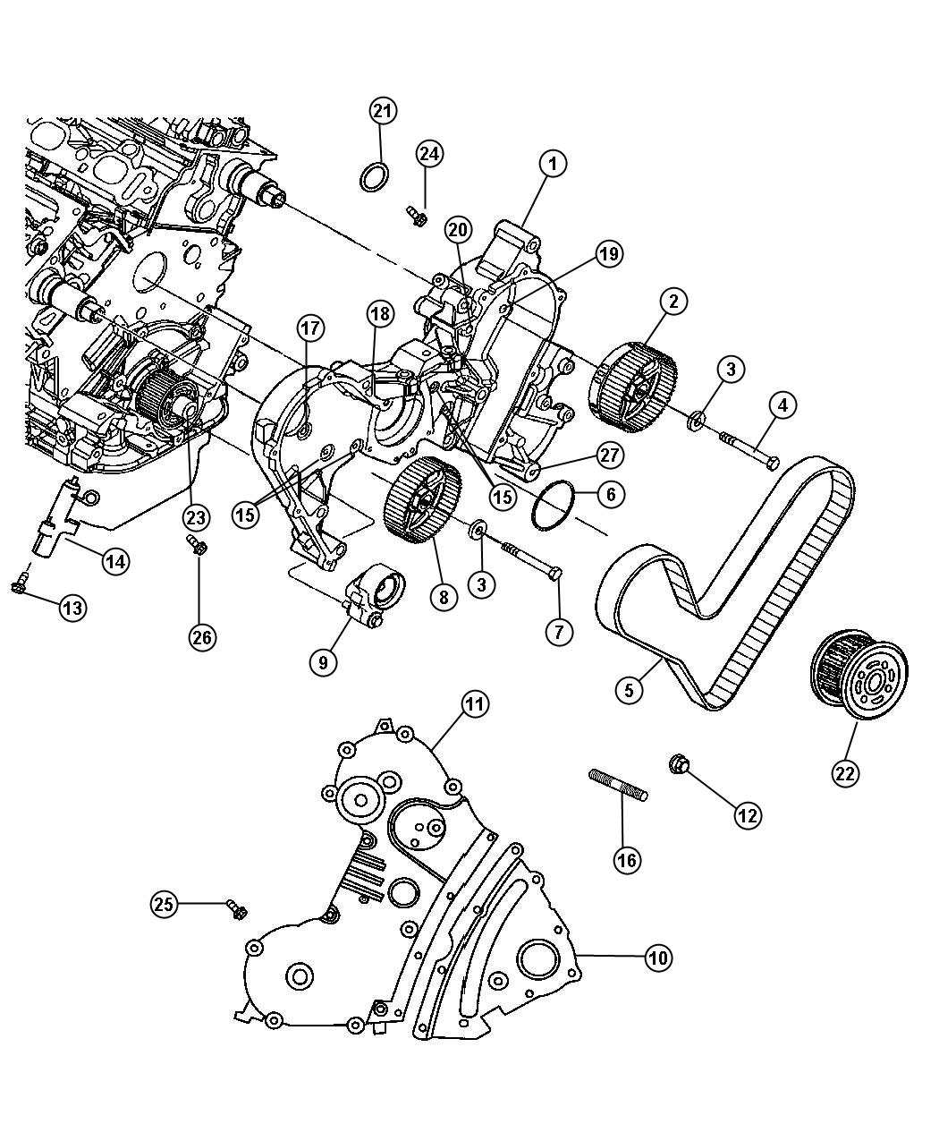 2005 Chrysler Pacifica Timing Belt Diagram Image Details Fuse Box 2006 Cover