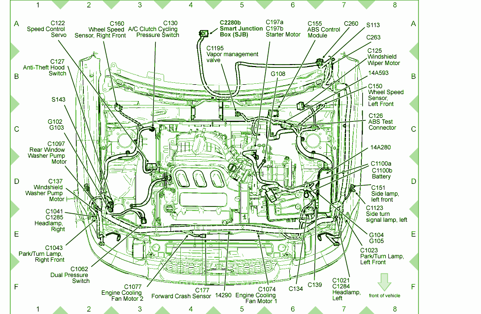 2001 Ford Escape Fuse Diagram - Wiring Diagram Perfomance  Ford F Fuse Box Diagram Blinkers on
