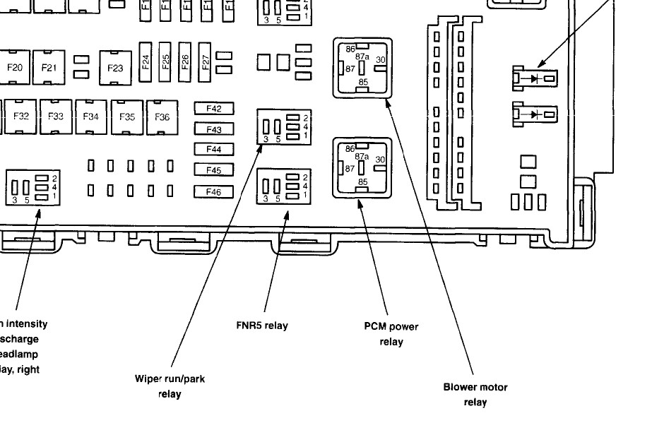 2006 Fusion Fuse Diagram. Wiring. Wiring Diagrams Instructions on f350 engine wiring diagram, f350 lighting diagram, f350 power windows wiring diagram, f350 fuse box diagram,