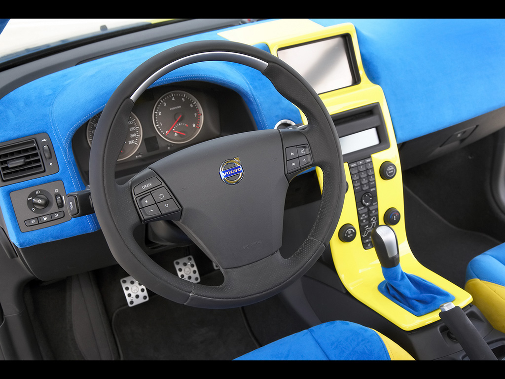 2006 IPD Volvo C30 Concept  Dashboard  1024x768  Wallpaper