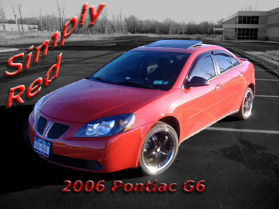 2006 Pontiac G6 Red