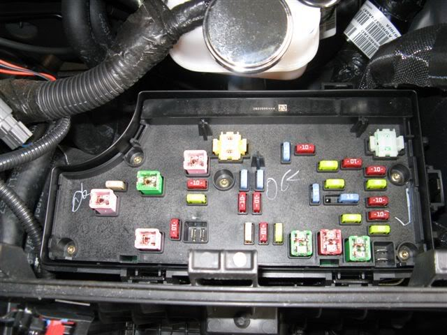 06 pt cruiser fuse box repair manual 2008 Lincoln MKX Engine Diagram