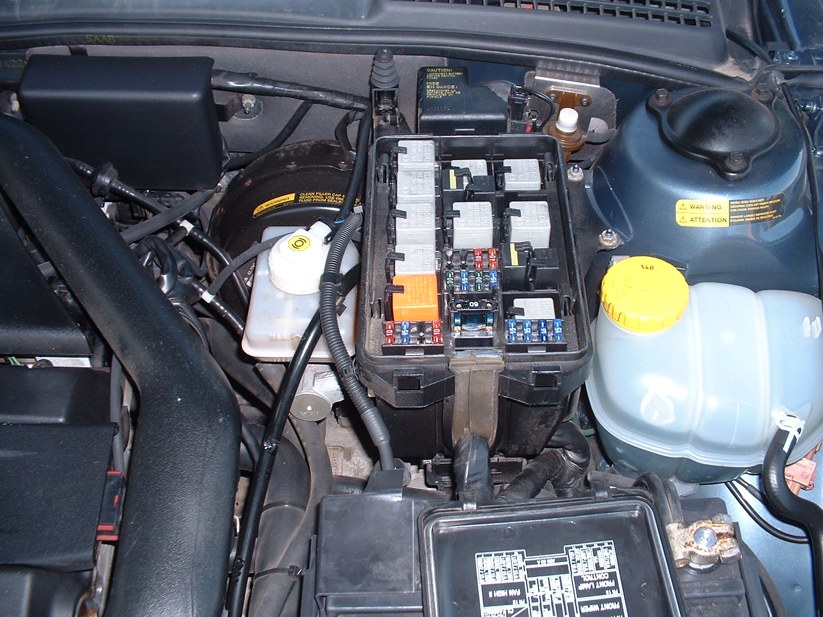 2006 Saab 9 3 2 0t Fuse Box Wiring Library Relay Location