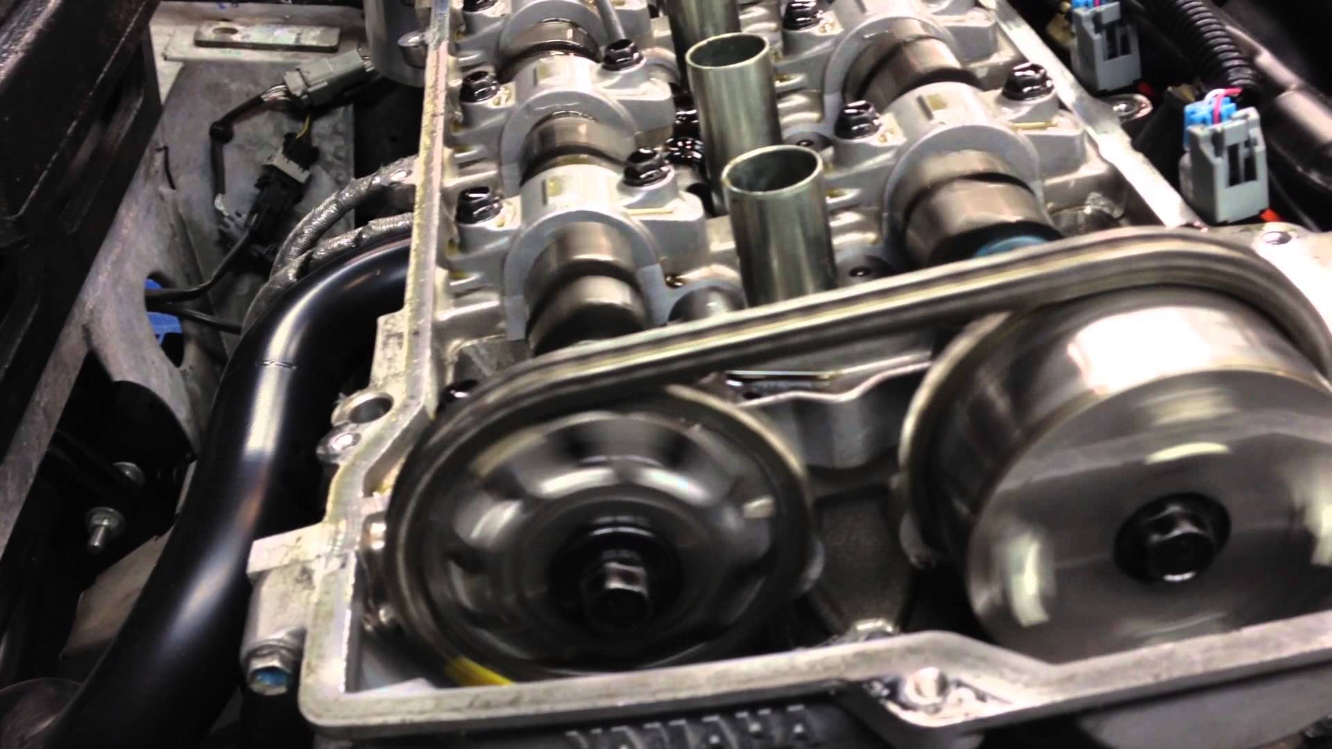 2006 Scion xB Timing Chain Marks