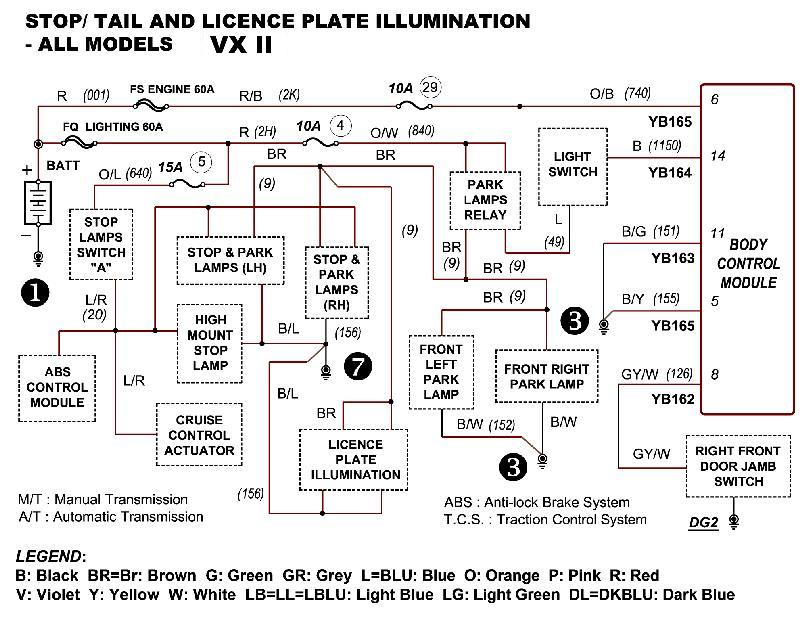 Vx Radio Wiring Diagram