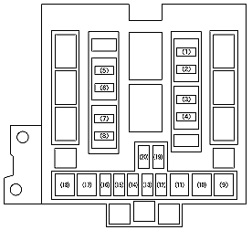 2006 Suzuki Grand Vitara Fuse Box Diagram