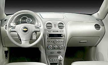 2007 Chevy HHR Interior