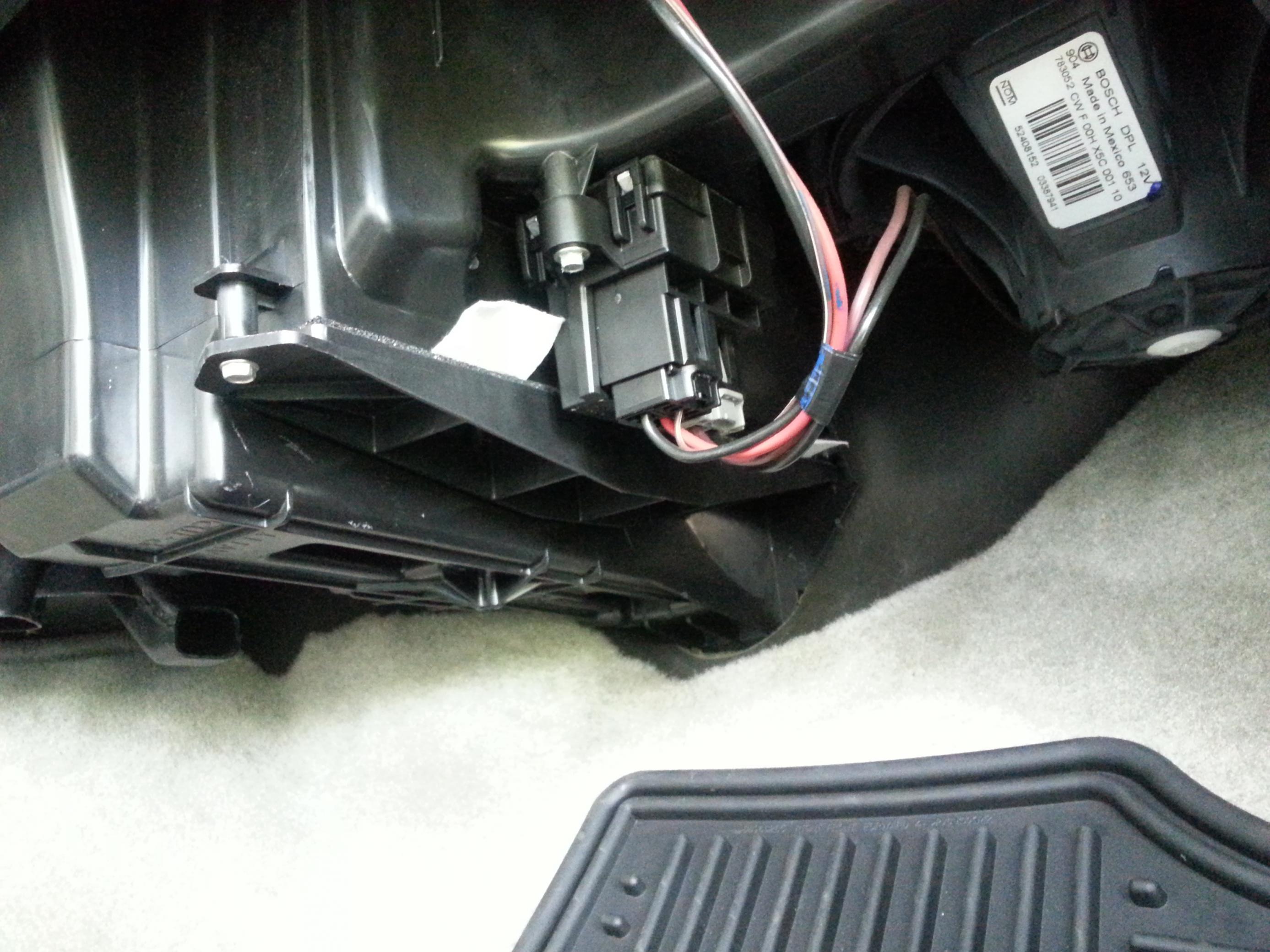2007 Chevy Suburban Cabin Air Filter Location