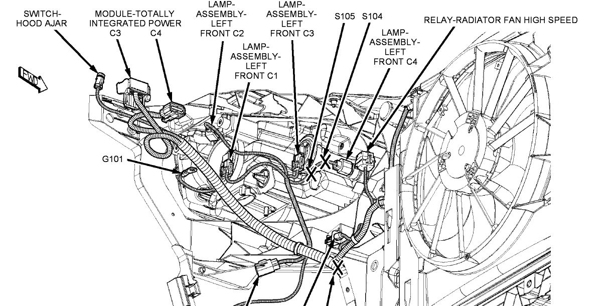 Dodge 3 5 Crank Sensor Location also 4bmln Ford Focus Le Place Fuse Box Layout together with 2ohy9 Chrysler Town Country Awd There Ground Wire besides Chrysler 300 Heater Blend Door Actuator Location likewise Chrysler 300m Crank Sensor Location. on 2008 chrysler sebring engine diagram