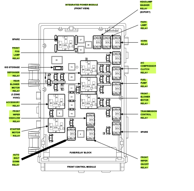 Diagrams616664 Dodge Caravan Fuse Diagram €� 2001