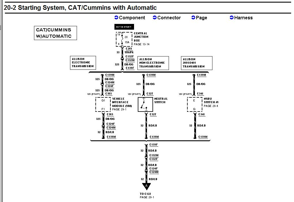 2001 ford f750 wiring diagrams trusted wiring diagram rh dafpods co  2007 f750 fuse diagram