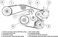 2007 Ford Fusion Belt Diagram