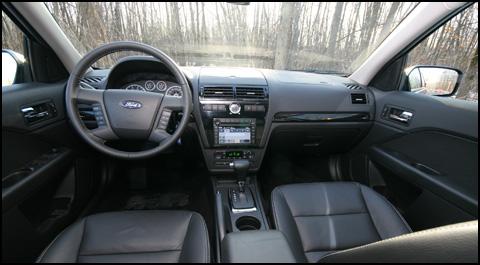 2007 Ford Fusion Sel Interior