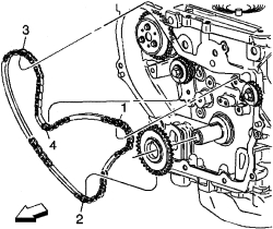2007 Honda Civic Timing Chain