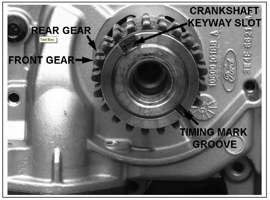 2007 Mazda CX7 Timing Marks