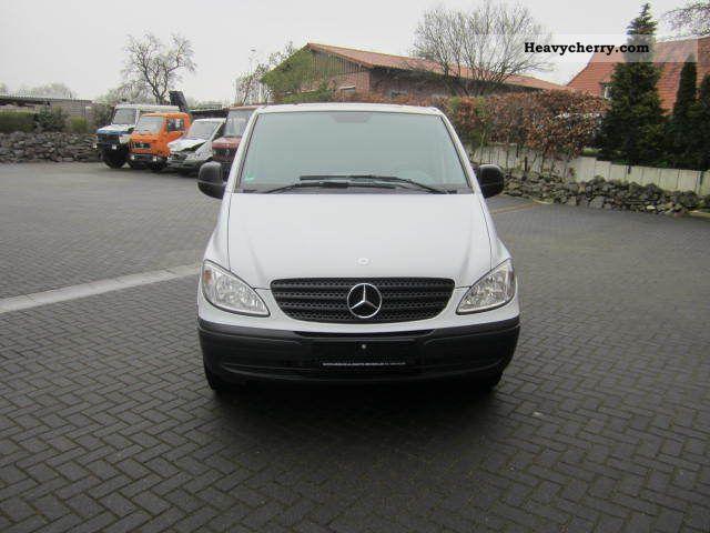 2007 MercedesBenz Vito 115CDI Mixto 5seater long air / Navi Van or