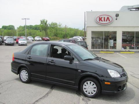 2007 Suzuki Aerio 4door Sedan Man FWD Rear Exterior View