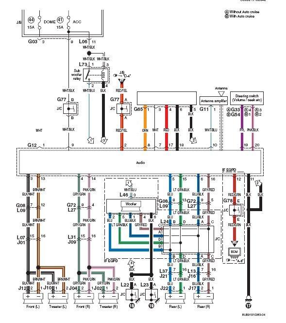 Speaker Wiring Diagram For A  Suzuki Xl Limited