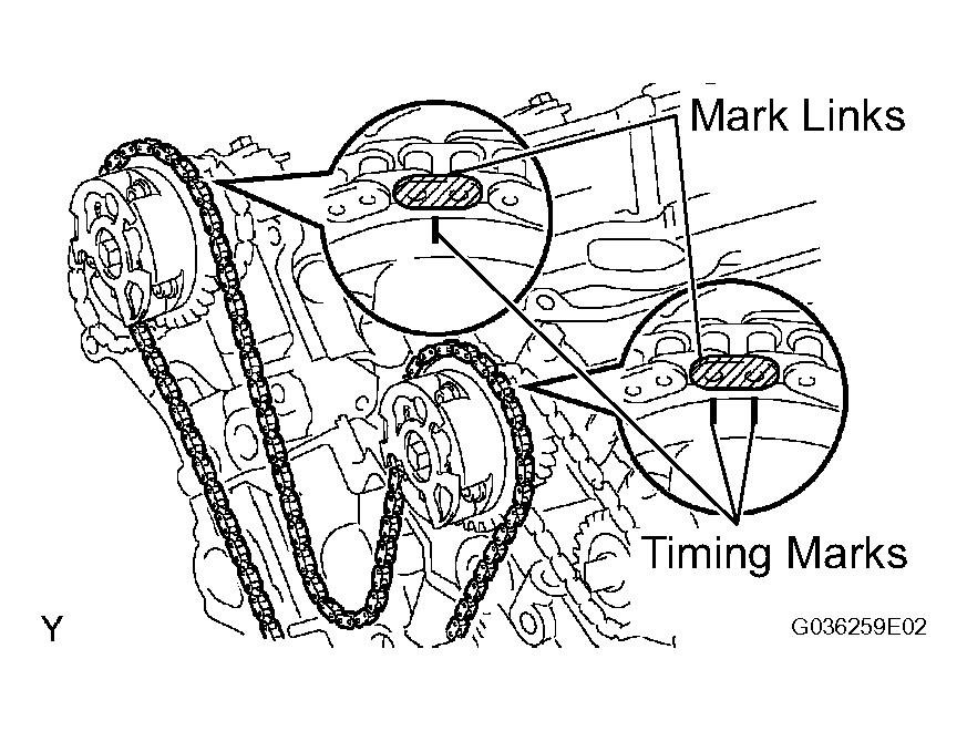2007 Suzuki XL7 Timing Chain Diagram