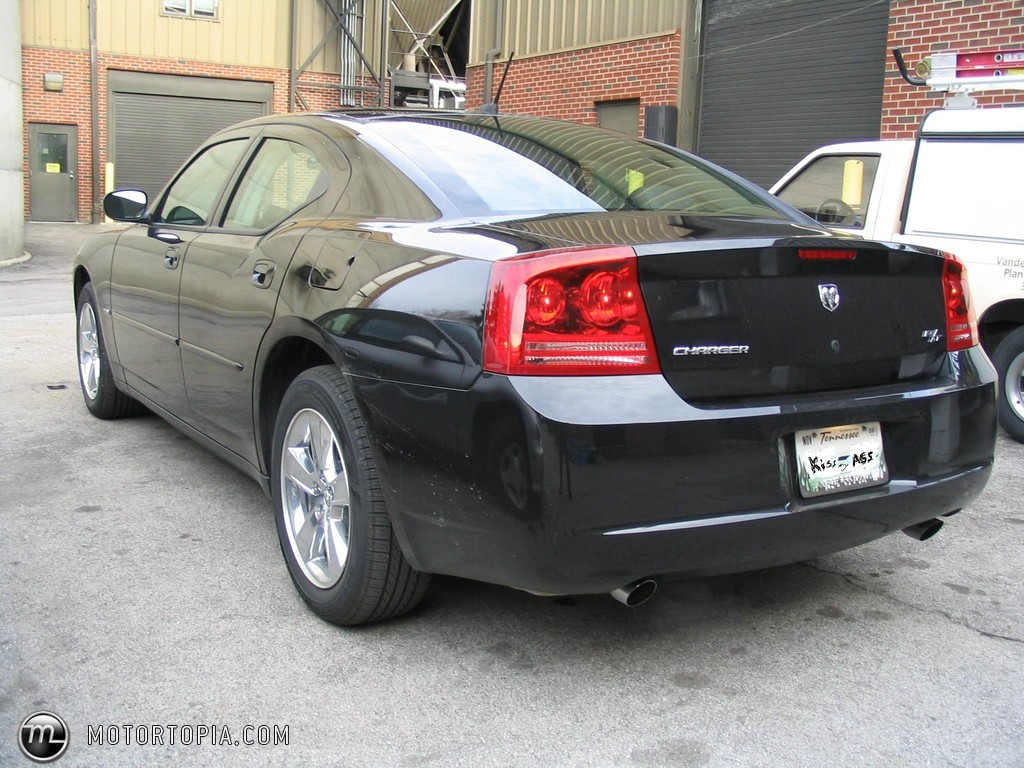 2008 Dodge Charger RT Black