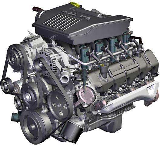 2008 Dodge Ram 4.7 Engine Diagram