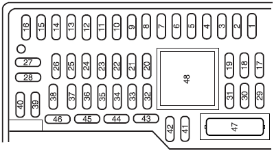 2008 ford focus fuse box diagram