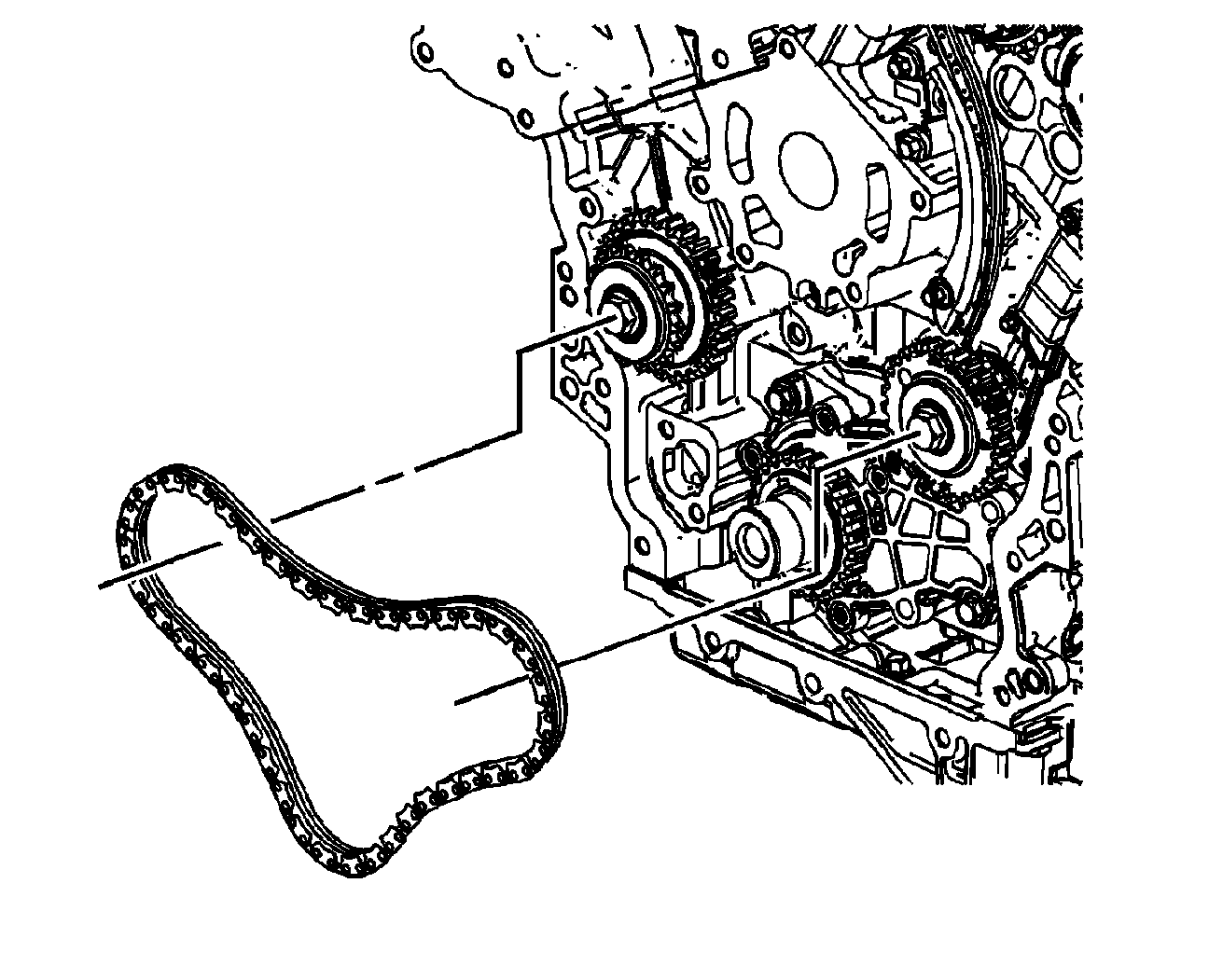 2008 Suzuki XL7 Timing Chain Diagram