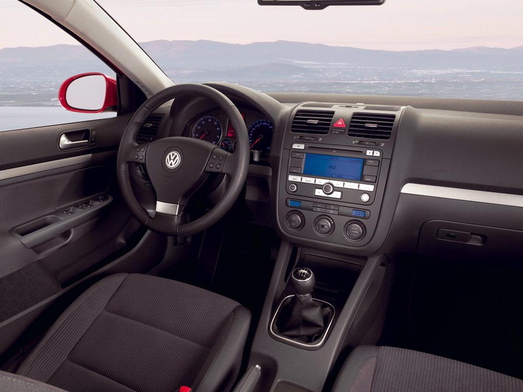 2008 VW Golf Interior