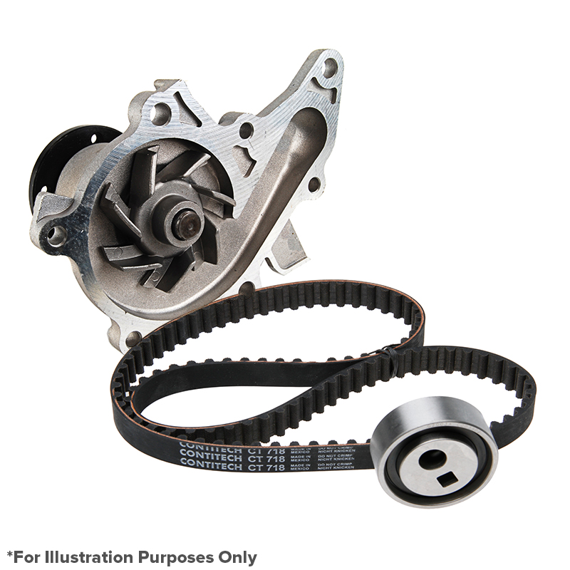 2009 Subaru Outback Pro Series Engine Timing Belt Kit with Water Pump