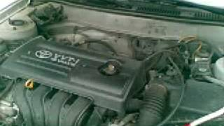 2009 Toyota Corolla Engine Timing Chain L4 1.8 (Genuine)