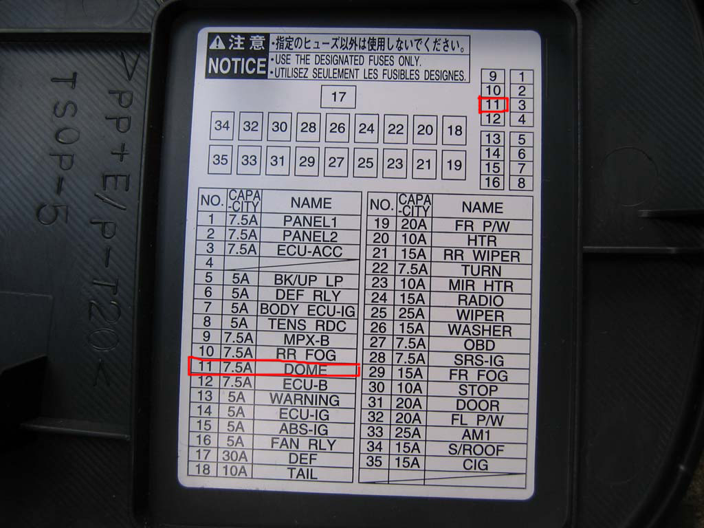 Toyota Celica Fuse Box Location 31 Wiring Diagram Images 2002 Engine 2009 Corolla
