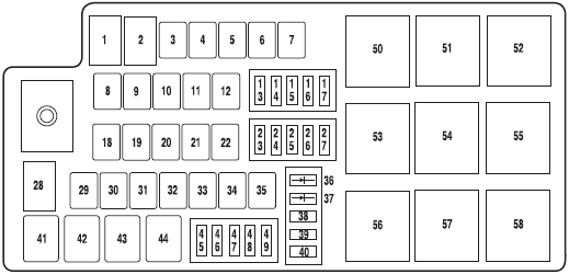 ford fuse box diagram with Mrhqwc on 2002 Ford Explorer Sport Trac Fuse Panel Diagram further Ford E150 Engine 3 in addition IBAlpR together with Wiring Diagram For Freightliner Century Cl Truck in addition 2000 Ford Ranger Wiring Diagram.