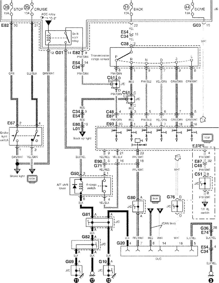 suzuki sidekick fuse diagram