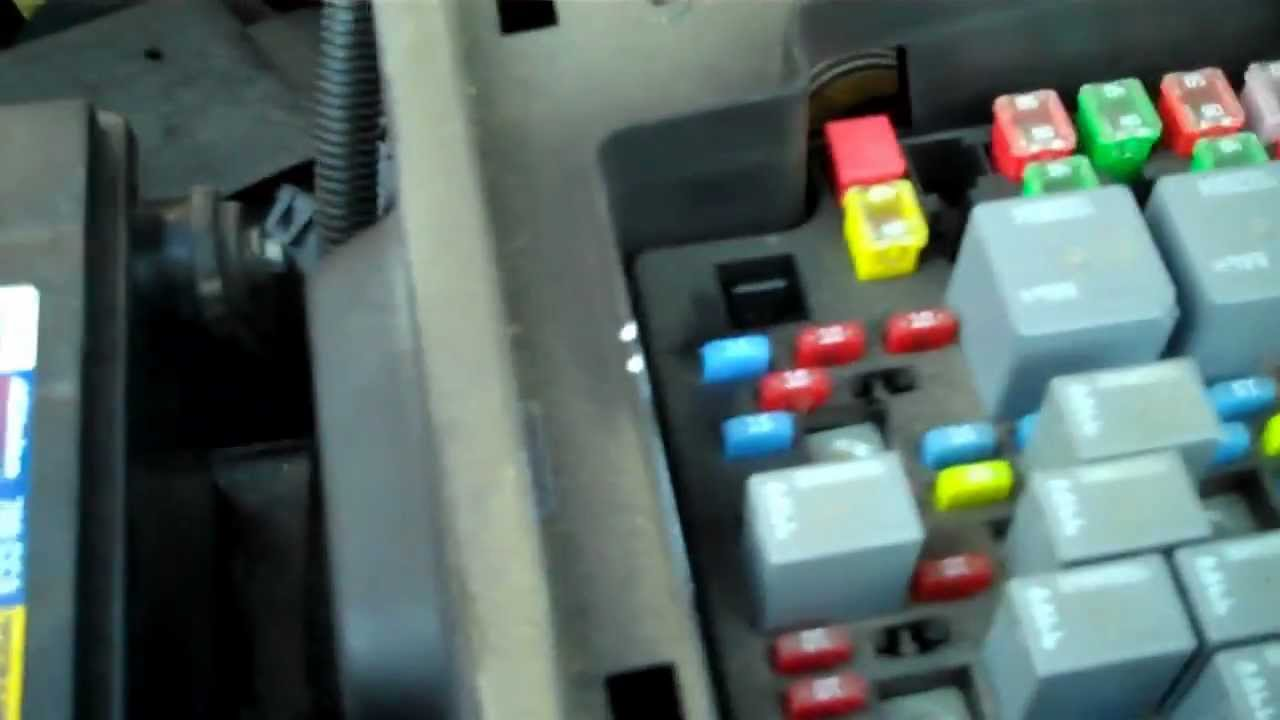 2011 Ford F150 Trailer Light Fuse Location Image Details Open Silverado Box