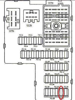 2011 Hyundai Sonata Battery Fuse