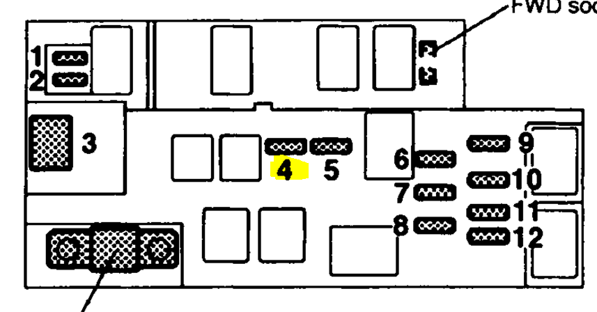 2011 Subaru Legacy Fuse Box Diagram