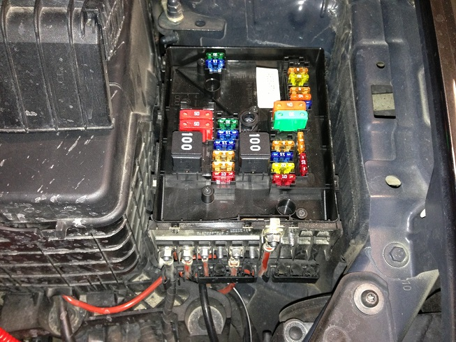 Audi a fuse box diagram