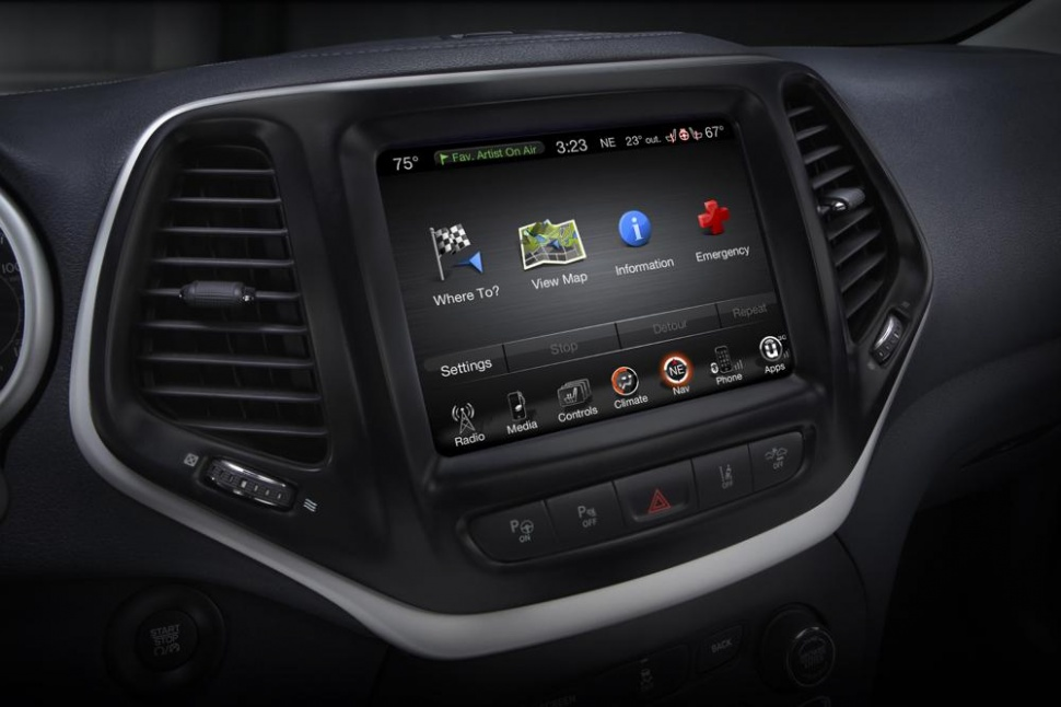 2012 Dodge Charger Uconnect Touch