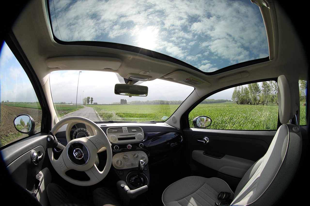 2012 Fiat 500 c cabrio Pop Controls Photo #79584730 | GTCarLot.com