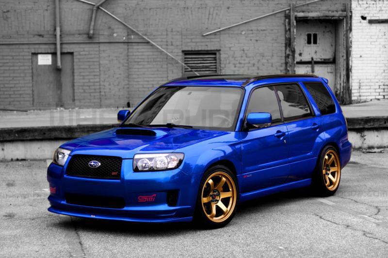 2012 Subaru WRX with Rota Rims