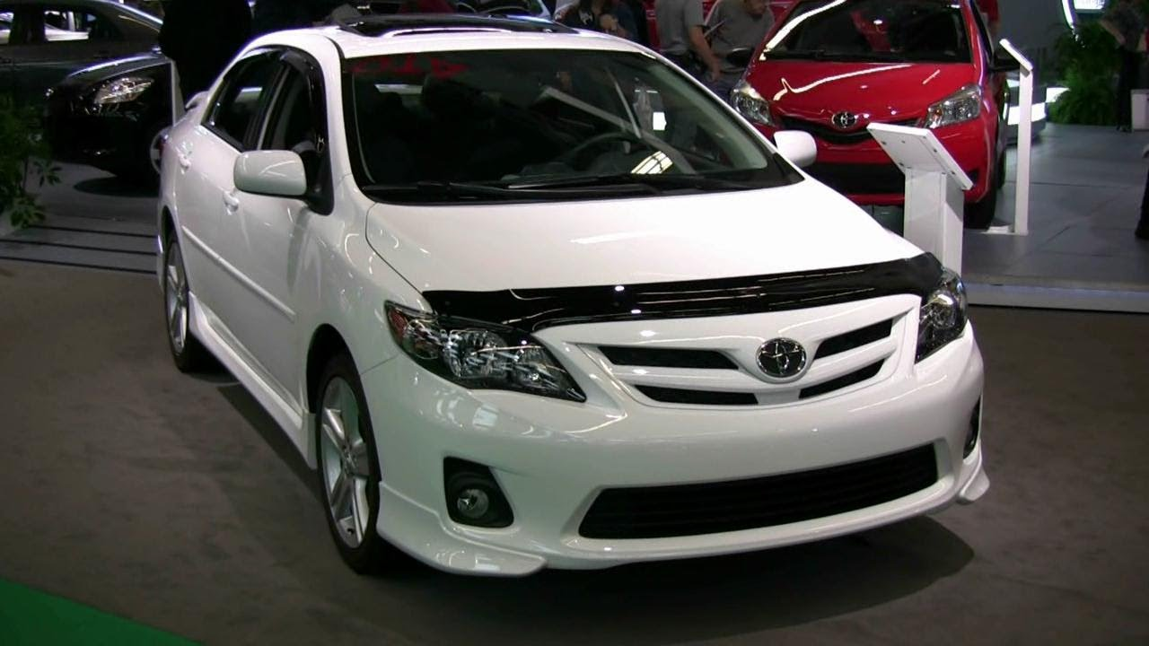 2012 Toyota Corolla XRS