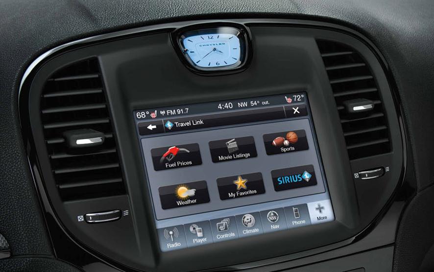 2013 Chrysler 200 Uconnect Radio