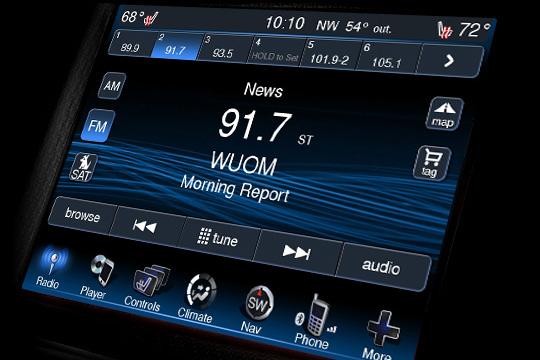 2013 Dodge Ram Uconnect Phone
