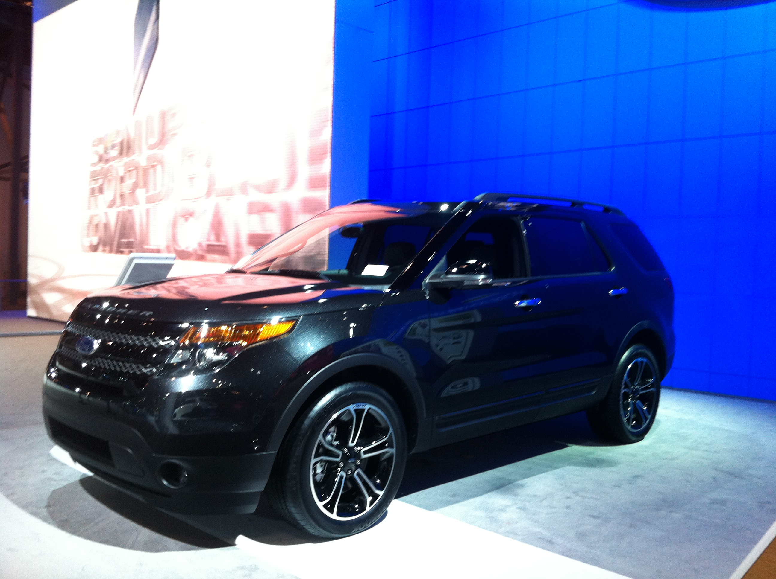 2014 Ford Explorer Sport Black