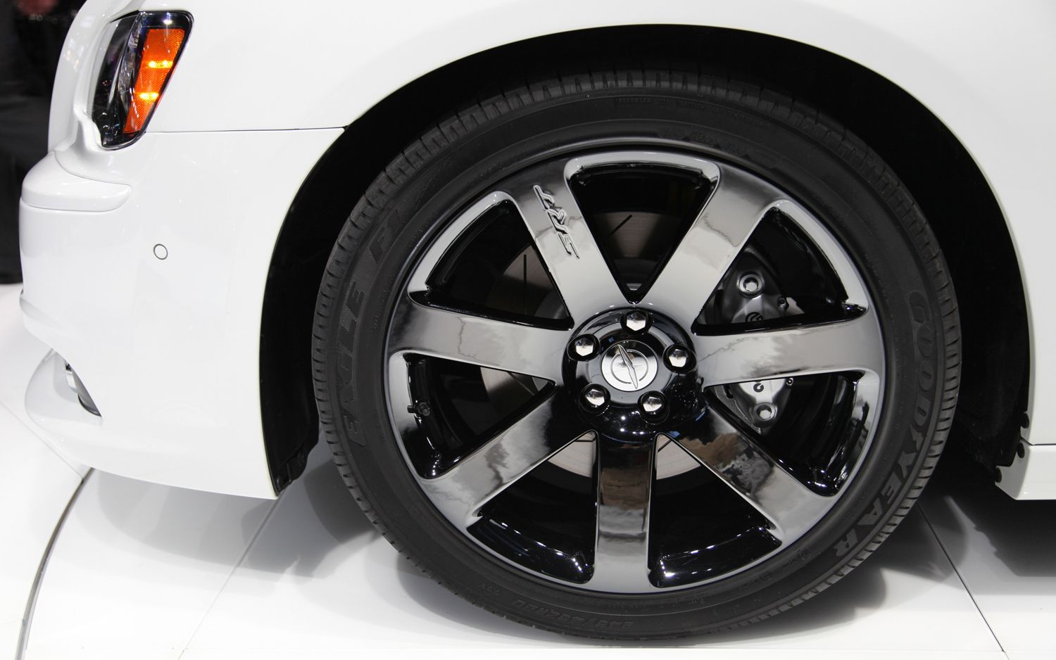 2014 Jeep Grand Cherokee SRT8 Wheels