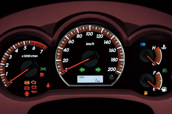 2014 Toyota Camry Dashboard Warning Lights