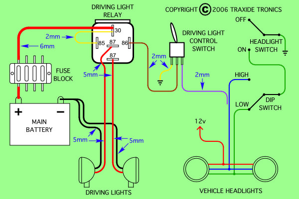 5 Wire Relay Wiring Diagram Light - image detailsMotoGuruMAG
