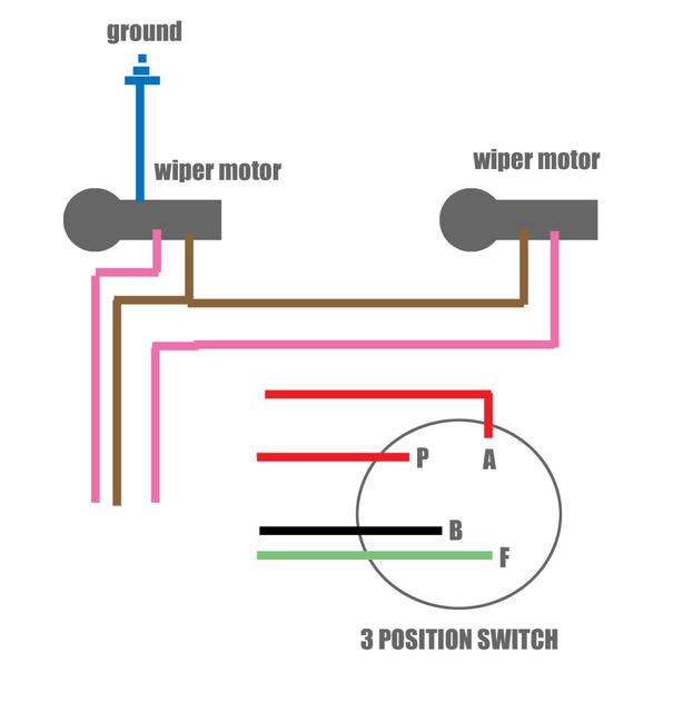 1969 Camaro Wiper Motor Wiring Diagram image details
