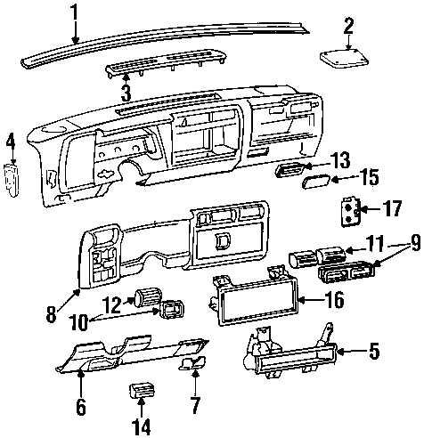 94 Chevy S10 Blazer Fuse Box Diagram